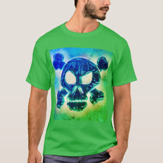 Radioactive Skull and Crossbones T-Shirt