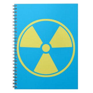 Radioactive Spiral Notebook