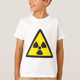 Radioactive Symbol Warning Triangle T-Shirt