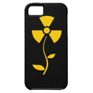 Radioactive to flower Yellow design iPhone 5 Cover