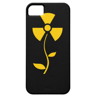 Radioactive to flower Yellow design iPhone 5 Covers