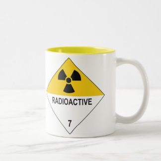 radioactive Two-Tone coffee mug
