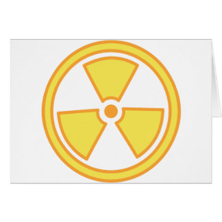Radioactive Warning Card