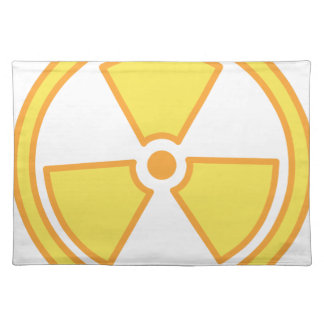 Radioactive Warning Placemat