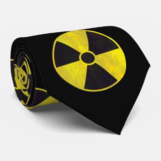 Radioactive Warning Sign Tie