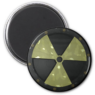 Radioactive Warning Symbol Magnet
