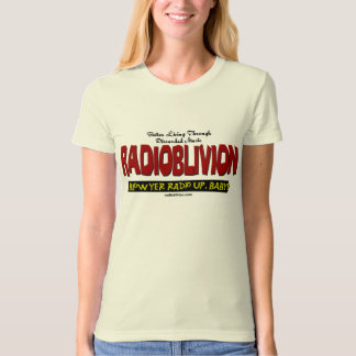 RadiOblivion - Blow Up White T-Shirt