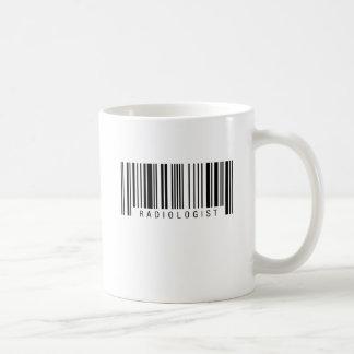 Radiologist Barcode Coffee Mug
