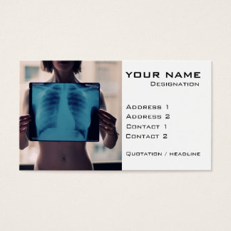 Radiologist Business Card