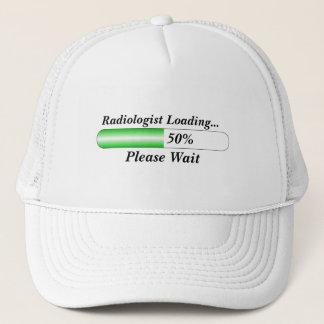 Radiologist  loading please wait trucker hat