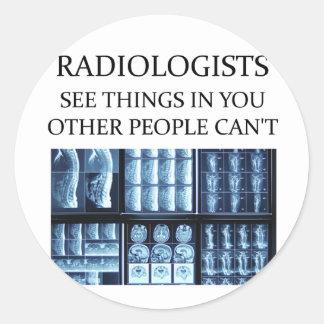 RADIOLOGisT  radiology Round Sticker