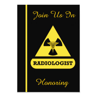 Radiologist Retirement Celebration Invitation