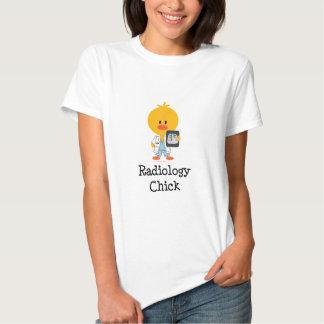 Radiology Chick T-shirt  Tees