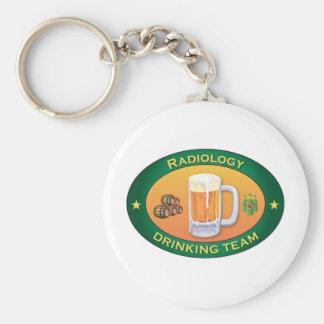 Radiology Drinking Team Keychain