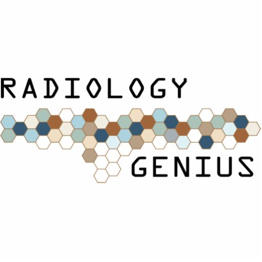 Radiology Genius Acrylic Cut Outs