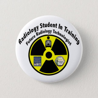 Radiology Student In Training 2 Inch Round Button