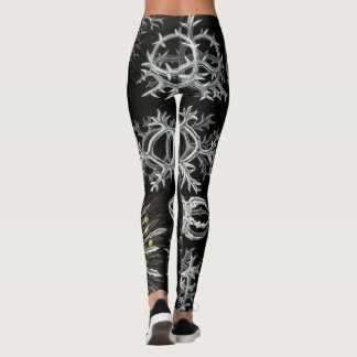 Radiozoa Sea Life by Haeckel Leggings