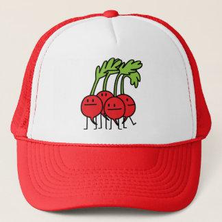 Radish Happy Bunch - Radishes being happy! Trucker Hat
