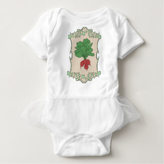 Radish Sign Baby Bodysuit