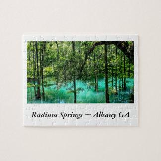 Radium Springs ~ Albany Georgia Puzzles
