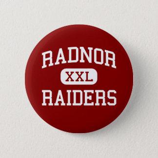 Radnor - Raiders - High - Radnor Pennsylvania 2 Inch Round Button