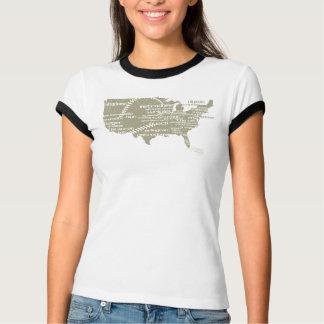 RAE - Classic Baseball Stadium Shirt - W RINGER