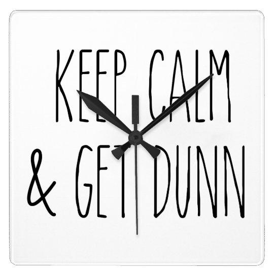 Rae Dunn Inspired Wall Clock #2
