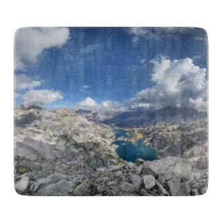 Rae Lakes from Painted Lady - John Muir Trail Cutting Board