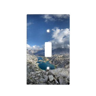 Rae Lakes from Painted Lady - John Muir Trail Light Switch Cover