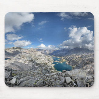Rae Lakes from Painted Lady - John Muir Trail Mouse Pad