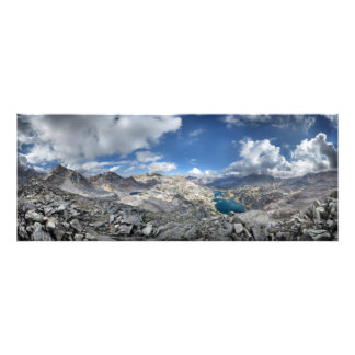 Rae Lakes from Painted Lady - John Muir Trail Photo Print