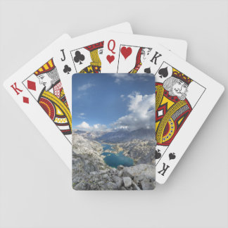 Rae Lakes from Painted Lady - John Muir Trail Playing Cards