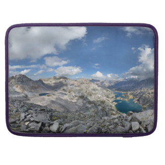 Rae Lakes from Painted Lady - John Muir Trail Sleeve For MacBooks