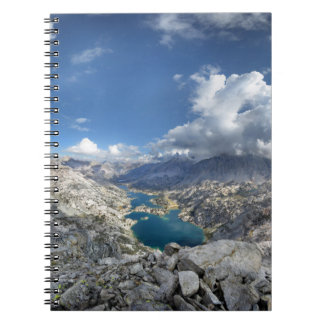 Rae Lakes from Painted Lady - John Muir Trail Spiral Notebook