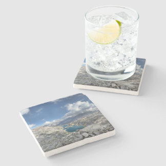 Rae Lakes from Painted Lady - John Muir Trail Stone Coaster