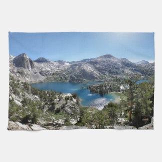 Rae Lakes - John Muir Trail - Sierra Hand Towels