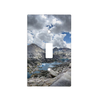 Rae Lakes Panorama from Fin Dome - John Muir Trail Light Switch Cover