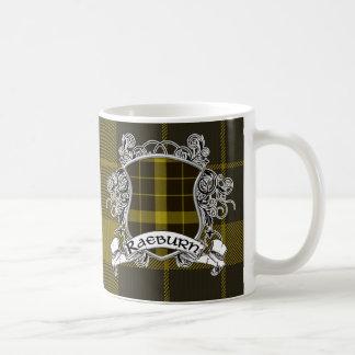 Raeburn Tartan Shield Coffee Mug