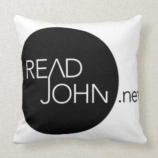 Raed John Throw Pillow