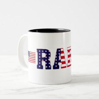 Rael Family Reunion Two-Tone Coffee Mug