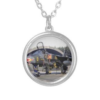 RAF 54 Squadron SEPECAT Jaguar GR.1 XX732 (1979) Silver Plated Necklace
