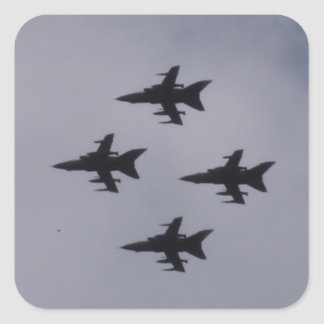 RAF Tornados Square Sticker