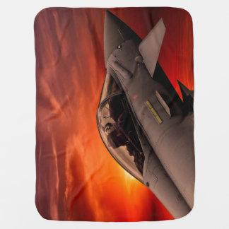 RAF Typhoon Receiving Blanket