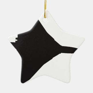 RAF Vulcan Bomber Ceramic Star Ornament