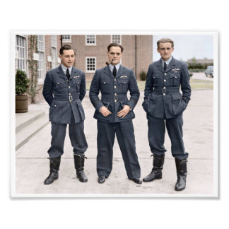 RAF Wing Commander Douglas Bader Photo Art