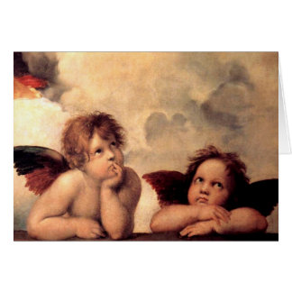 Rafael's Putti Greeting Card