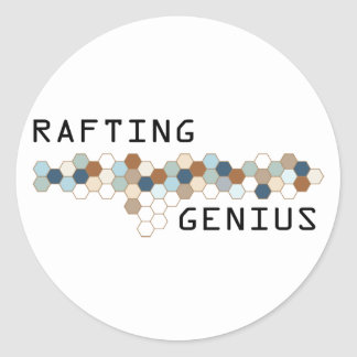 Rafting Genius Sticker
