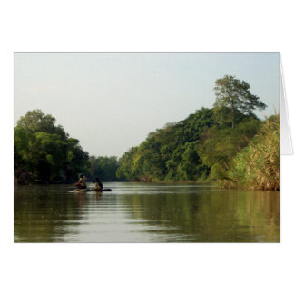 Rafting on the Mae Ping Card