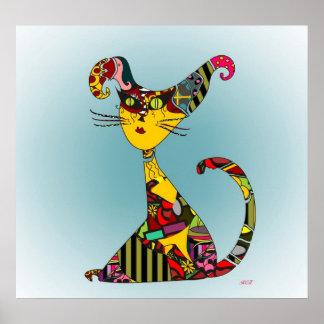 Rag Cat Poster