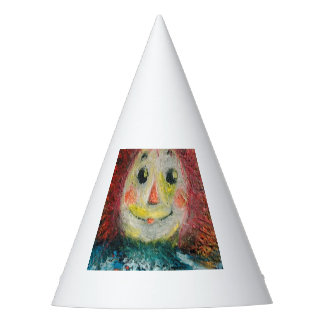Rag doll party hat
